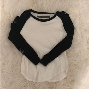 Sweaters - Black and White Sweater